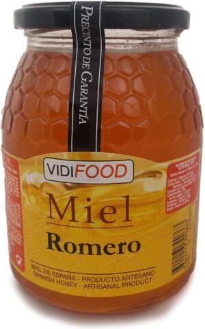 Bote de 1KG de miel de Romero